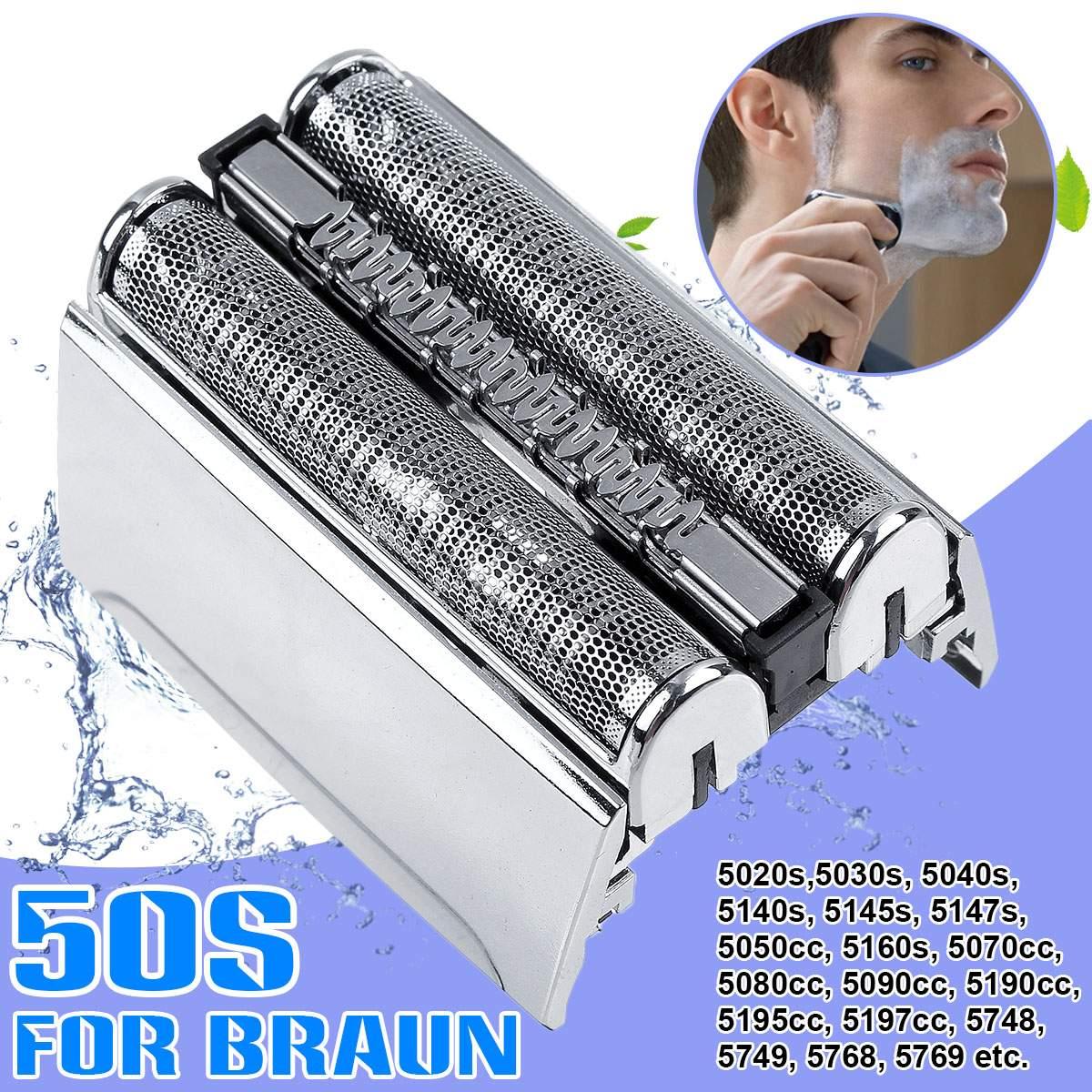 Reemplazo de 52S máquina de papel de cartucho para casete la cabeza para Braun 52S serie 5 5030s 5145 5190cc 5195cc 5197cc 5748, 5749, 5768, 5769
