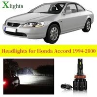 xlights car bulbs for honda accord 1994 1995 1996 1997 1998 1999 2000 led headlight low high beam auto light lamp