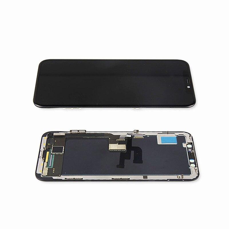 آيفون X OLED XS ماكس XR 11 برو ماكس incell مع ثلاثية الأبعاد تعمل باللمس محول الأرقام الجمعية 11 برو ماكس شاشة LCD استبدال العرض