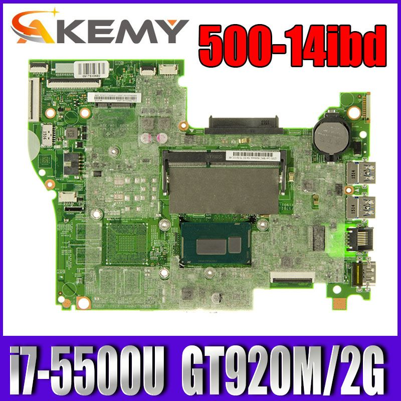 448.03N03.001M para For Lenovo FLEX3-1470 YOGA 500-14IBD notebook placa base 100% trabajo de prueba CPU i7-5500U GT920M 2G DDR3