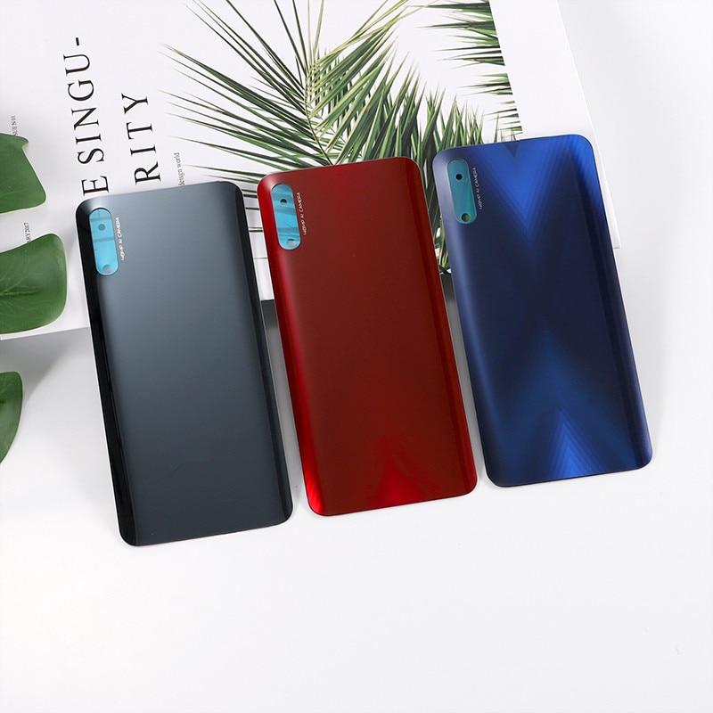 Honor9X 100% Original Housing For Huawei Honor 9X Glass Battery Cover Repair Replacement Back Door Phone Rear Case + Logo