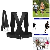 speed training resistance harness resistance training band weight bearing speed exercise tension belt vest sled harness fitness