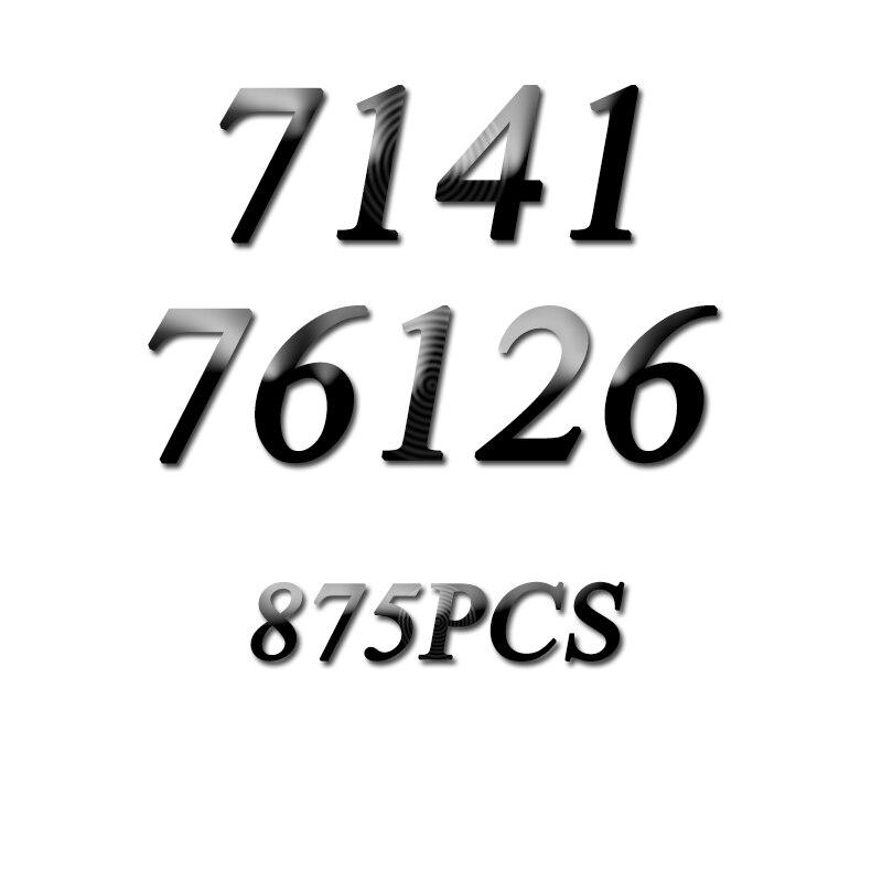 7141 875pcs ultimate quinjet bela 6 figures building blocks 76126 Toys For Children