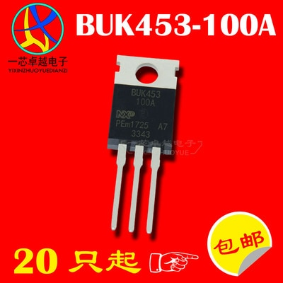 Original nuevo 5 uds/BUK453-100A BUK453 FHP75N08 MTP50N06V 6TQ045 TO220 a-220