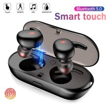 Y30 TWS Bluetooth 5.0 Wireless Stereo Earphones Earbuds In-ear Noise Reduction Waterproof Headphone For Smart Phone Android IOS