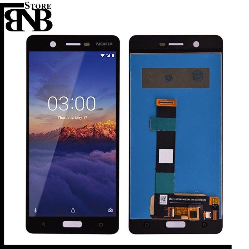 Für Nokia 5 N5 LCD Display Mit Touch Screen Digitizer Sensor Panel Montage Ersatz Teile Für Nokia 5 LCD bildschirm pannel