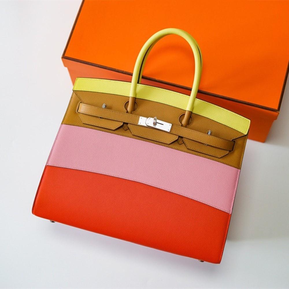 Handmade Designer Bags Famous Brand Women 2020 Luxury Handbags Woman Genuine Leather Runway Female Europe Top Quality 048