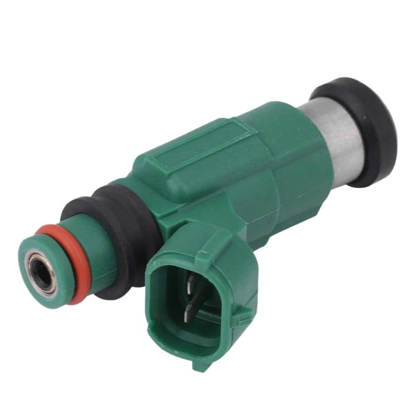 Boquilla de inyección de combustible para coche, inyector de pulverización de combustible verde para Mazda Protege 2.0L 2001-2003, INP783 INP-783