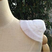 1pair 2pcs Thick 25mm White/Black High Shoulder Padded Shoulder Padding Encryption for Blazer Clothe