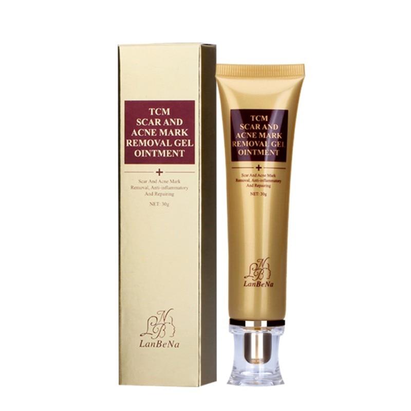 2020 30ml para reparar la piel crema para eliminar cicatrices del acné Crema para blanqueamiento de espinillas crema facial Tratamiento Para manchas de acné