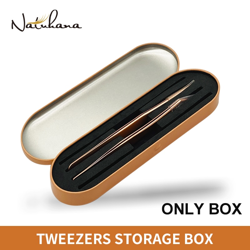 AliExpress - NATUHANA Professional Tweezer Storage Box for Eyelash Extension,Tweezer Organizer Case, Lashes Tweezer Box,Eyelash Planting Tool