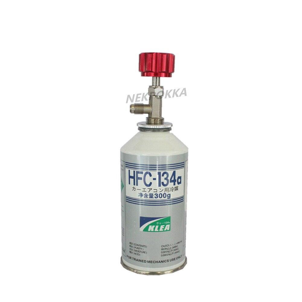 R134a A/C Refrigerant bottle opener,M14 1/4 SAE R134a Refrigerant Distribution valve