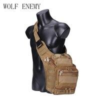 Уличная Военная Тактическая нагрудная Сумка-слинг, Спортивная дорожная сумка через плечо для мужчин и женщин, мужские сумки-кросс-боди для ...