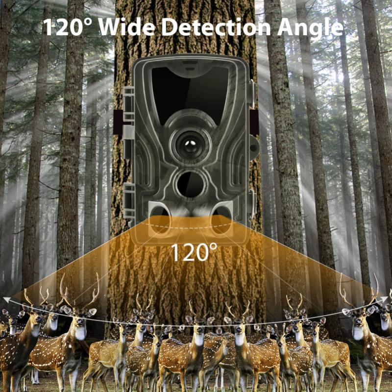 Hunting Trail Camera Wildlife Camera With Night Vision Motion Activated Outdoor Trail Camera Trigger Wildlife Scouting