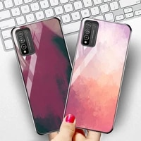 marble case for huawei honor 10 lite case tempered glass case for huawei honor 8x coque honor 10i 20 10x lite 9x 9a 8a 7c 7a pro
