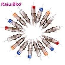 10 pièces cartouche de tatouage aiguilles jetables Semi-Permanent maquillage sourcil Piercing Machine MYM 1RL/3RL/5RL/7RL/9RL/11RL/13RL/15RL