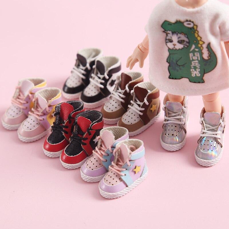 Ropa de muñeca nueva, zapatos deportivos de moda para ob11,obitsu 11,holala,1/12bjd, accesorios de ropa para muñecas