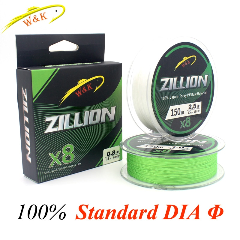 PE Lines for Big Fish Fishing at 8 Braided Line 150m High Strength Toray-Material Fishing Lines Braided Line