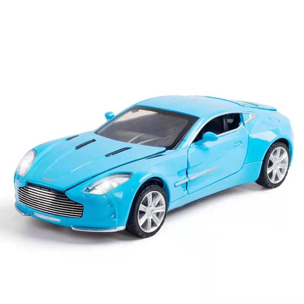 1:32 Aston Martin alloy car model sound and light force control simulation toy gift collection