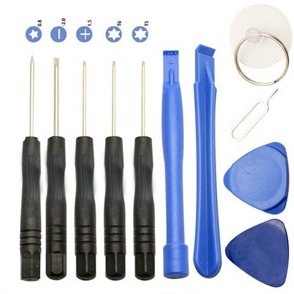 Juego de destornilladores universales, herramientas de apertura, Kit de herramientas de reparación, Kits de herramientas de desmontaje de teléfono para iPhone Android