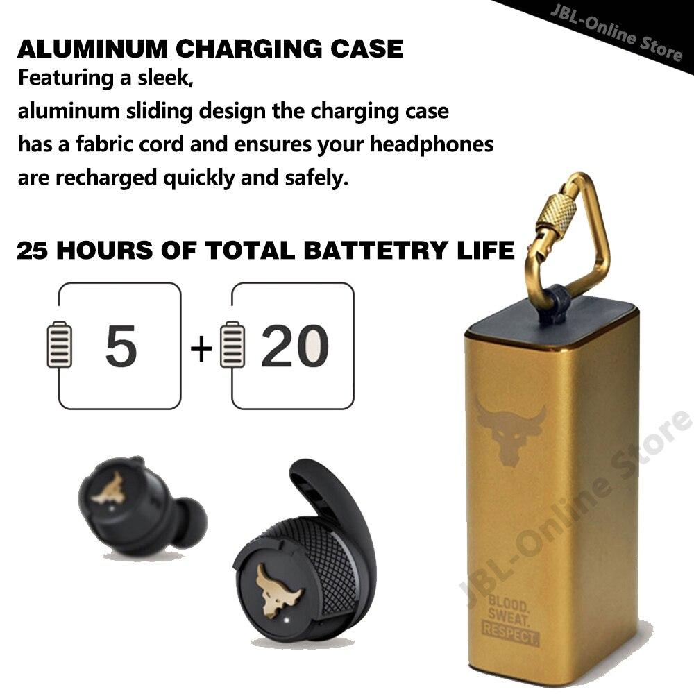 Original JBL UA Project Rock True Wireless Bluetooth Headsets In-Ear IPX7 Game Stereo Headphone with Mic Earbuds Sport Earphone enlarge