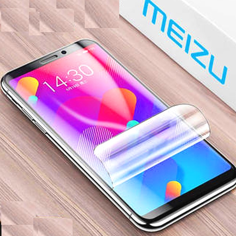 9D Hydrogel Film On For Meizu M5 M6 Note M3 mini M8 Lite Screen Protector M3S M5S M5C M6S M6T Safety