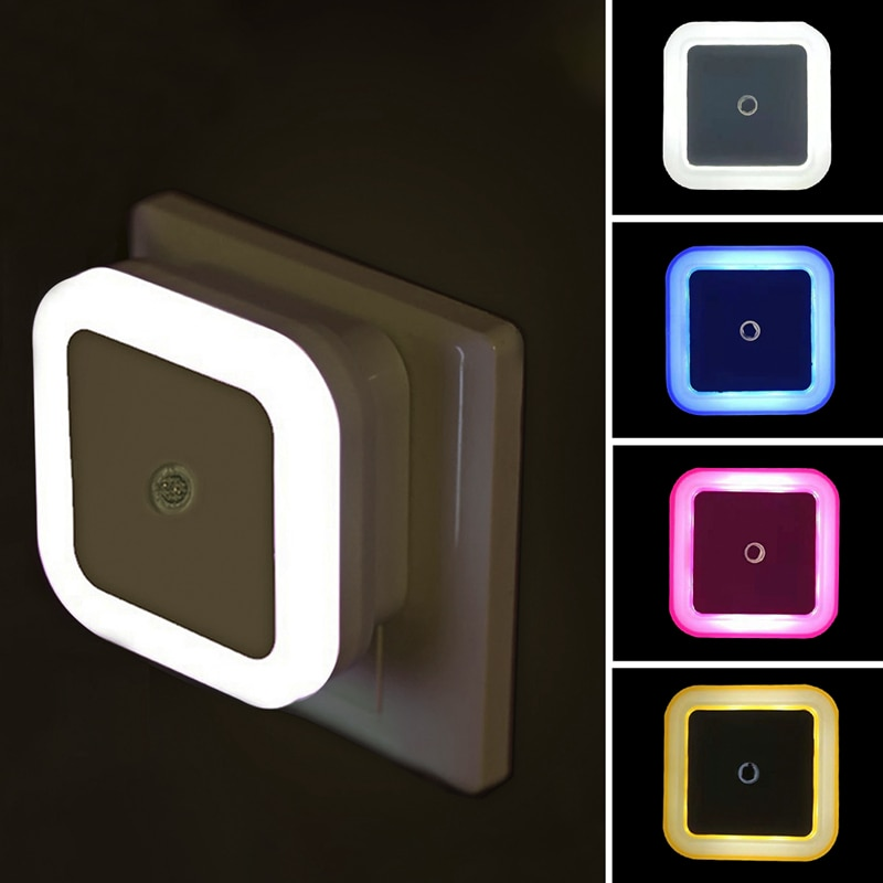 Wireless LED Night Light Sensor Lighting Mini EU US Plug Night light Lamp For Children Kids Living Room Bedroom Lights Lighting