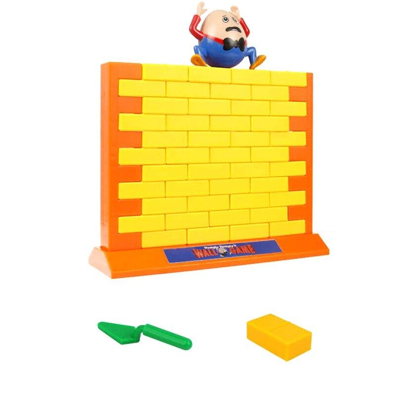 Pala amarilla para niños, marco de pared, Base para pequeños trucos, bloques de construcción, juego de pared de demolición