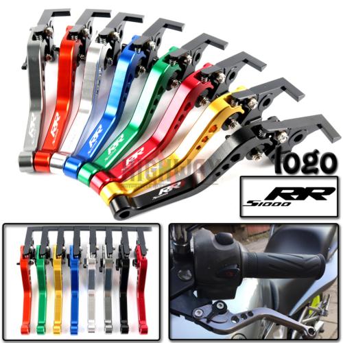 Motorcycle Brake Handle Bar Lever CNC Aluminum Short Adjustable Clutch levers For BMW S1000RR S1000 RR 2010-2014