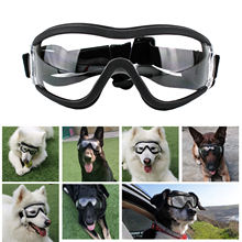 Pet Eye Wear with Adjustable Strap UV Resistant Anti Snow Wind Dust Water Protection Cool Lightweigh
