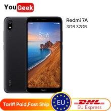 "Global Rom Xiaomi Redmi 7A 7 A 3GB 32GB SmartPhone Snapdargon 439 Octa core 5.45"" HD 4000mAh Battery 13MP Rear Camera Cellphone"