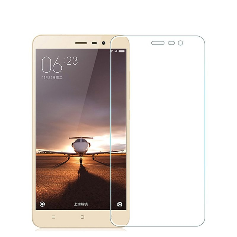 9H BlueAnti Tempered Glass For XiaoMi RedMi Note 3 4 4X 5 Pro Redmi 3 3s 4A 5A 6 6A Screen Protector