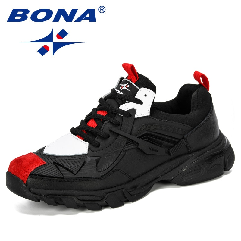BONA-أحذية كاجوال للرجال ، أحذية رياضية مريحة وخفيفة الوزن ، طراز عصري ، 2019