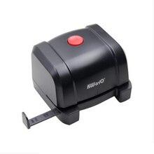 1 Pcs Papier Elektrische Puncher 2 Gat Elektrische Puncher 10 Vellen Verstelbare Feed Diepte Puncher