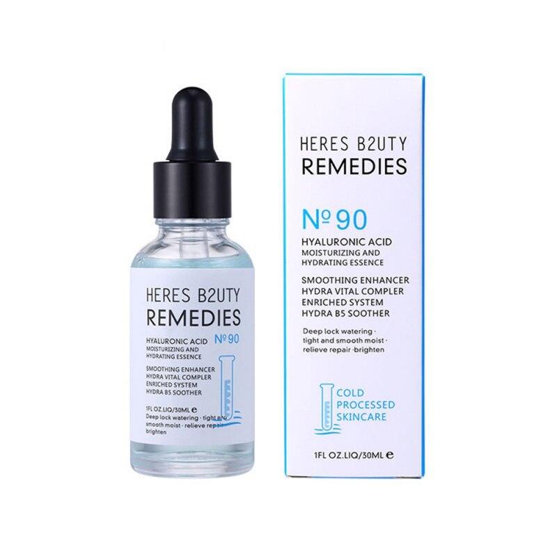 30ml Anti-Aging Moisturizing Whitening Essence Hyaluronic Acid Shrink Pore Face Serum 2020