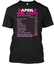 Men T shirt Womens April Birthday Girl Fact Shirt Women tshirt