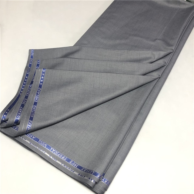 5 Yards TR Material Cashmere Cloth African Soft TR Men Fabric with High Quality Men Material for Man Garment TX120602