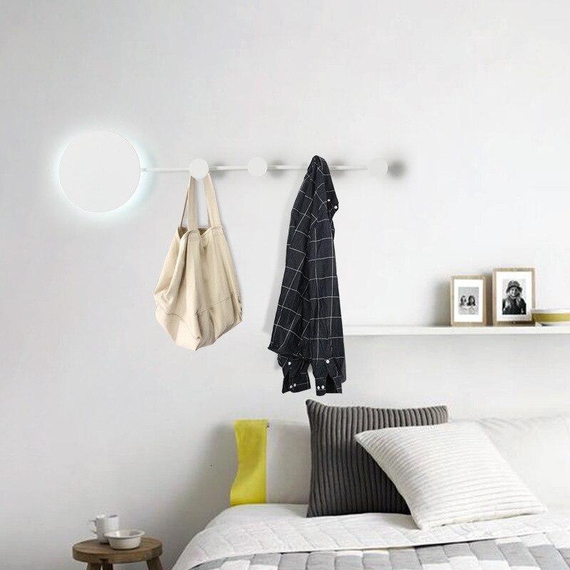 Guardarropa de Hotel nórdico moderno LED, habitación de ajuste, pasillo de dormitorio, lámpara de pared decorativa de pasillo