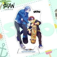 anime sk eight sk8 the infinity acrylic figure stand model plate cartoon figures model desktop standing plate collection jewelry