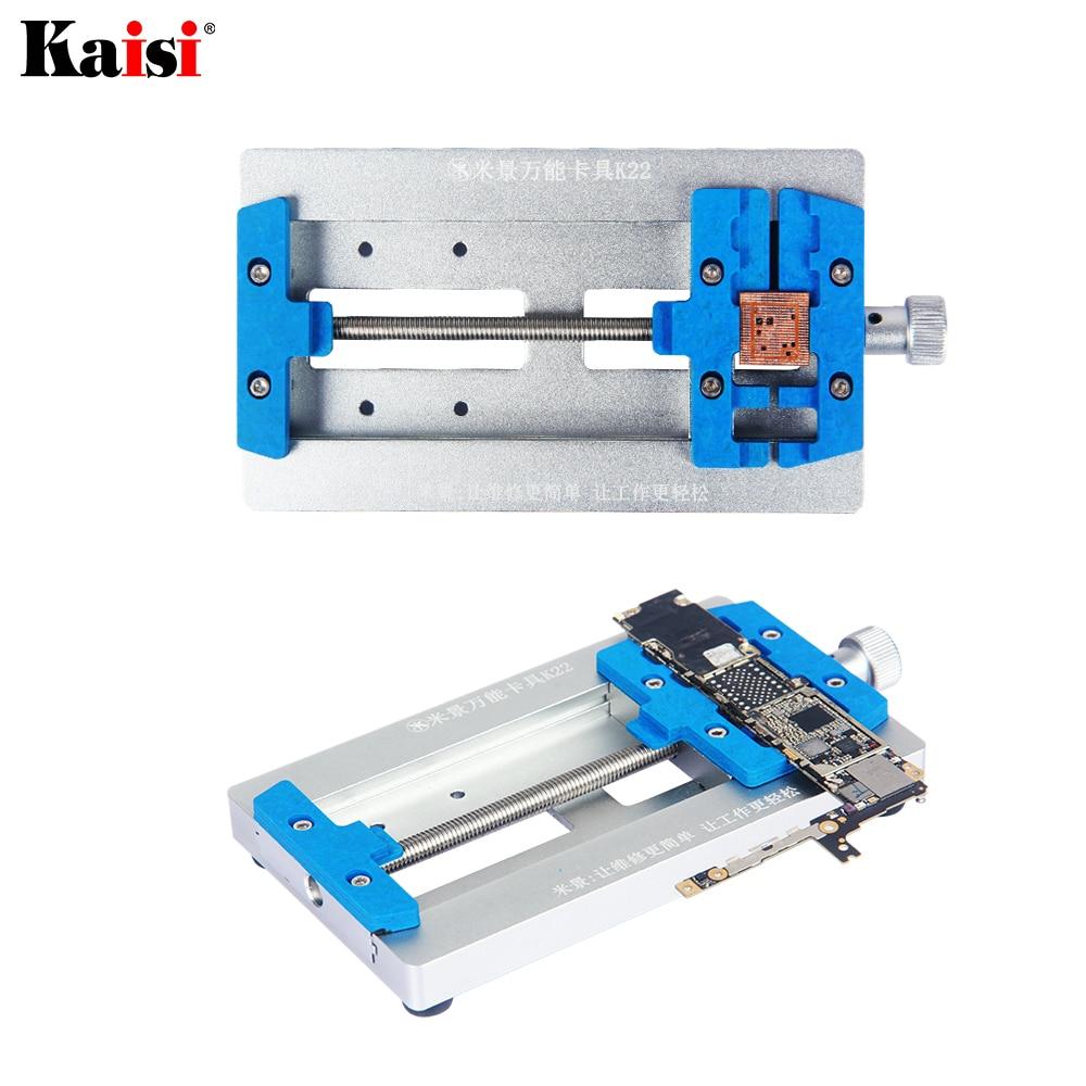 أداة إصلاح لحام الهاتف المحمول Kaisi, حامل PCB ، لوحة أم ، تثبيت في موقع IC ، حامل إصلاح PCB لهاتف iPhone