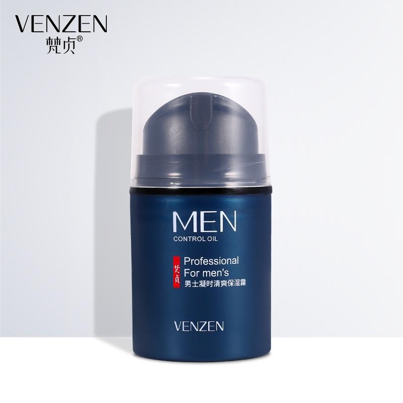 Venzen sólo los hombres para los hombres de día de aceite de Control cremas hidratante cara crema profundo hidratante antienvejecimiento arrugas cuidado de la piel blanqueamiento