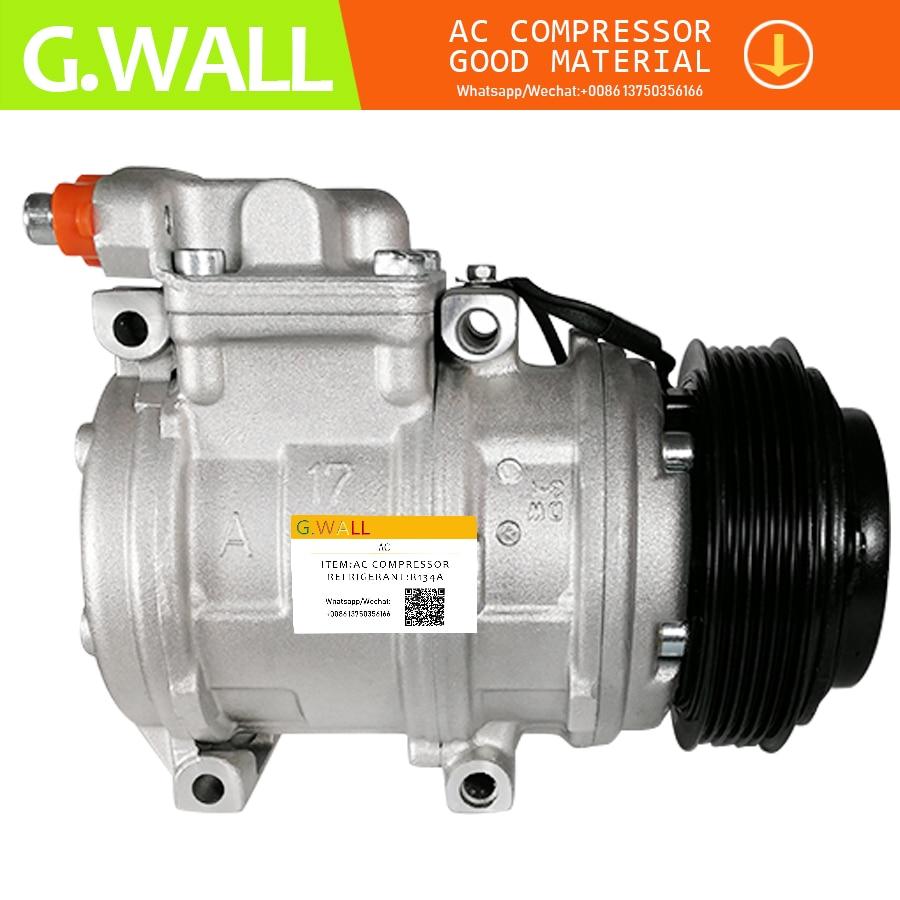 Compresor 10PA17C AC para SSANGYONG RODIUS 2,7 compresor AC 6652300011 152267 180500390A