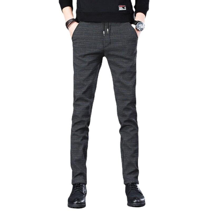 Новинка весна-осень 2021, мужские повседневные брюки, прямые Свободные корейские трендовые спортивные брюки, одежда, черные джоггеры-Карго