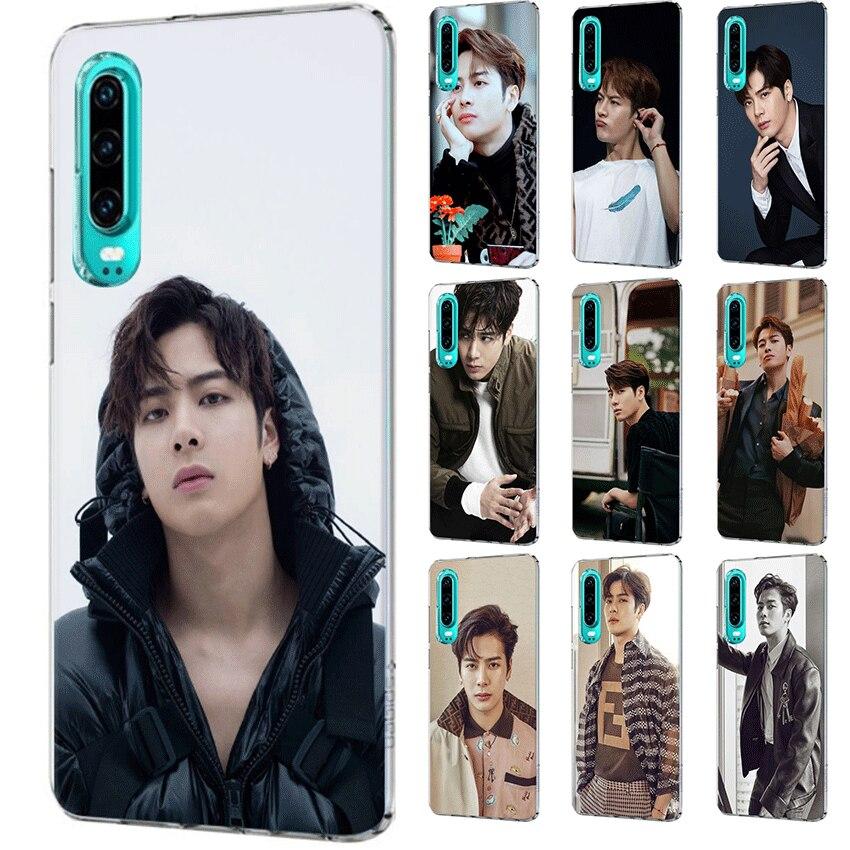 Caixa Do Telefone móvel Para Huawei Companheiro 30 10 20 Pro Lite Y6 Y7 Y9 Huawei Nova 3i 2i 2 5i 3 4 capa Jackson Wang
