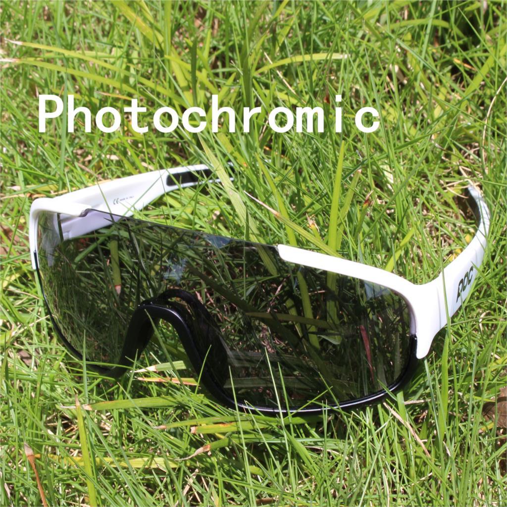 Photochromic Ciclismo Gafas de sol de las mujeres de los hombres de...