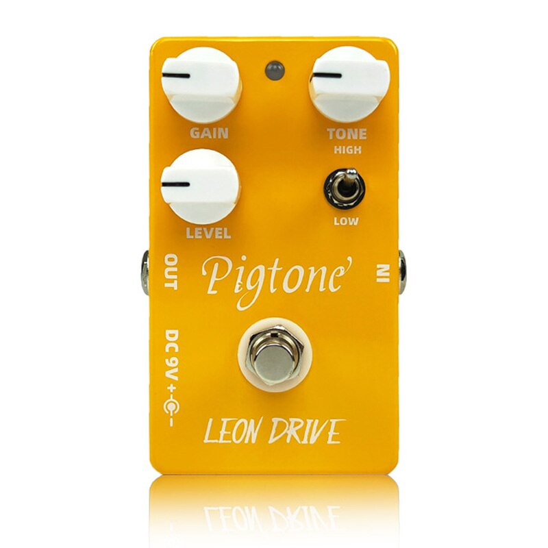 Pigtone PP-02 Leon Ultimate Drive Overdrive Guitar Pedal Acoustic Electric Guitar Accessories Parts Effects Pedals Real bypass enlarge