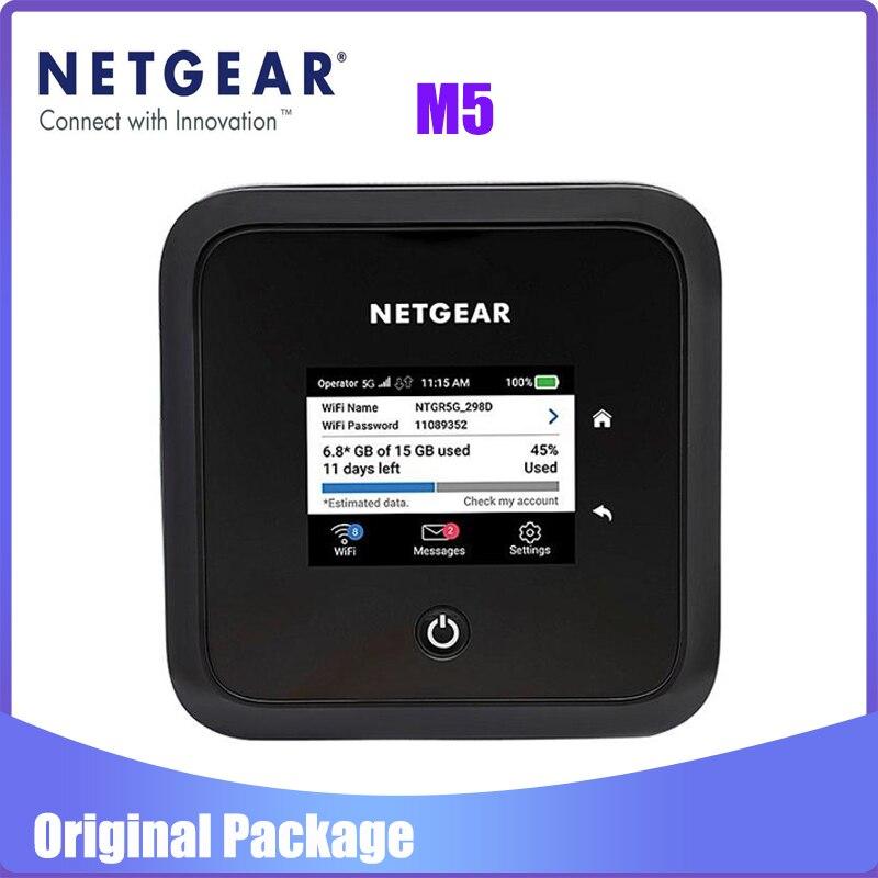 Netgear Nighthawk M5 MR5200 5G NR Sub6 Ghz NSA n1/n3/n5/n7/n8/n20/n28/n38/n40/ n77/n78 Pocket Mifi Modem
