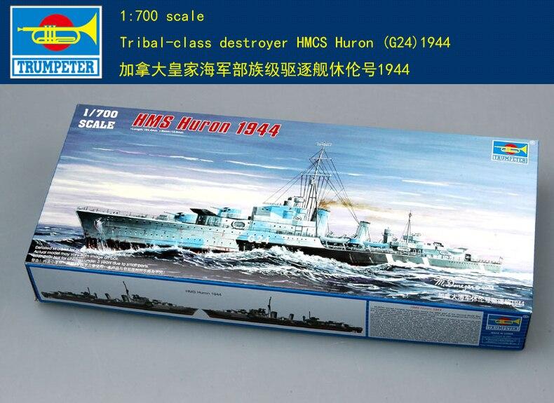 Trompetista 05759 1/700 Tribal-destructor de la clase HMCS Huron (G24)1944