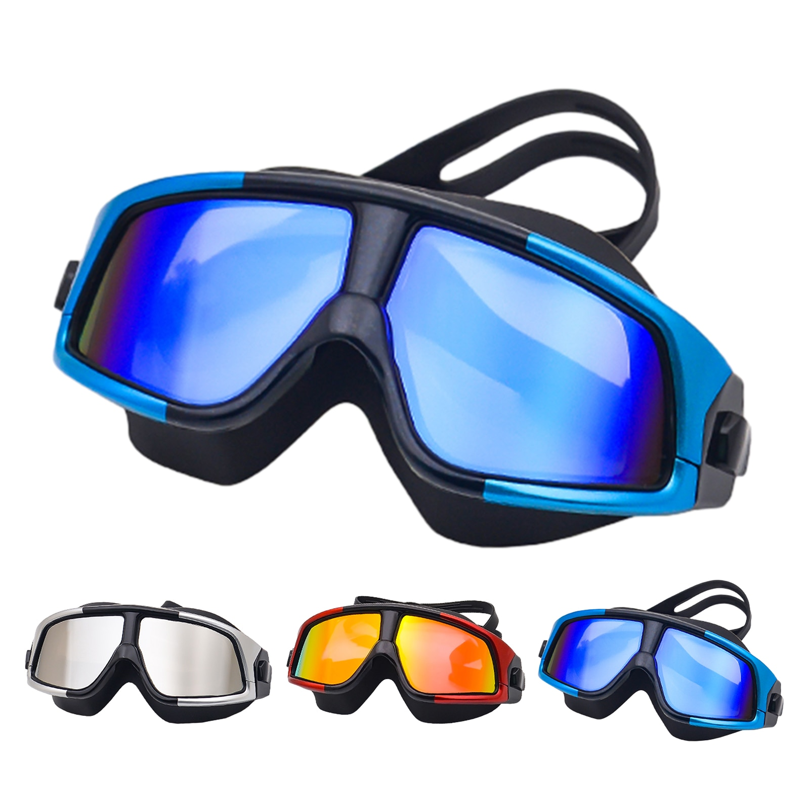 Professional Swimming Goggles Adult Waterproof Anti-ultraviolet Pressure-free Anti-fog Training