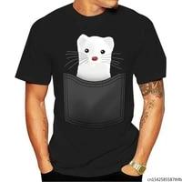 2021 t shirt fashion cool men women funny pocket ferret customized printed